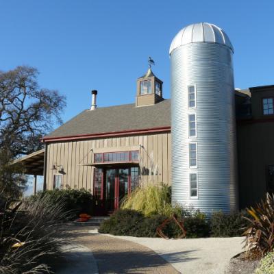 Resurrected Barn in Sonoma