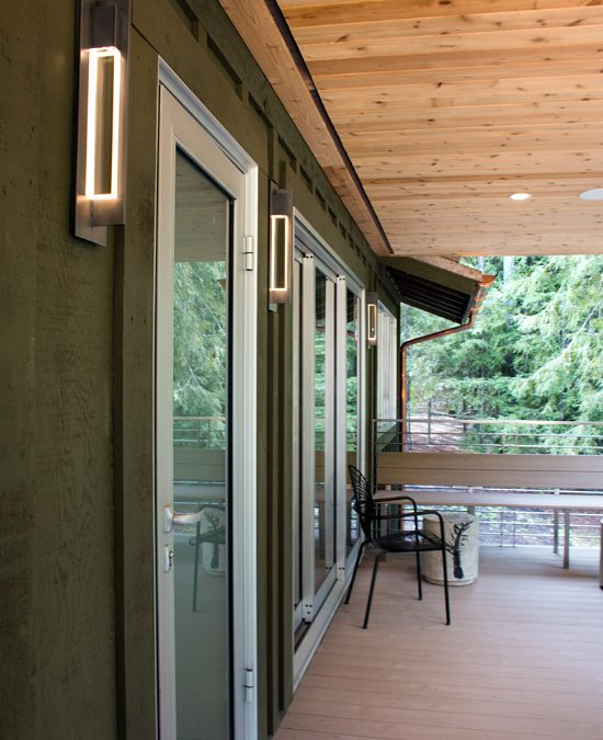 Country Wood Apartments: Contemporary Guest Apartments In A Country Barn