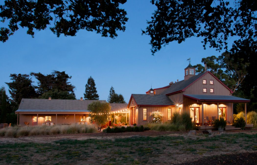 Resurrected Barn in Sonoma